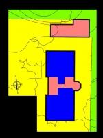 Atribución de usos de los edificios del faro de Punta l'Avançada